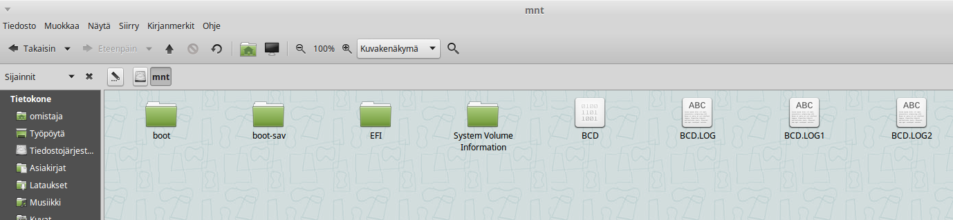 EFI-partition